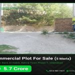 5 Marla commercial plot for sale Bahria Phase 7