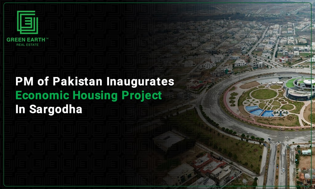 PM of Pakistan inaugurates economic housing project in Sargodha