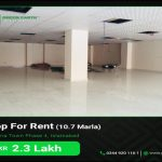 10 Marla Shop for Rent Civic Center Bahria Town Phase 4 Islamabad